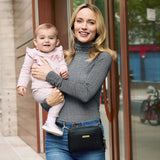 Skip Hop Greenwich Convertible Hip Pack - Black (3)