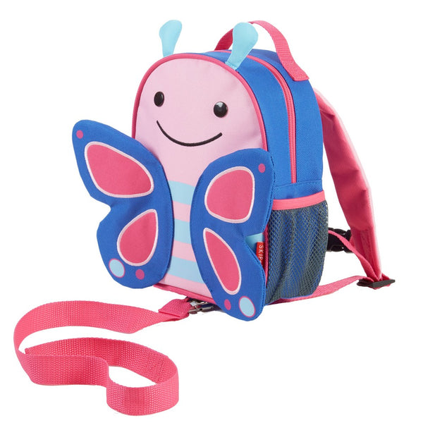 Skip Hop Zoo Blossom Butterfly Backpack with Reins