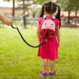 Skip Hop Zoo Livie Ladybug Backpack with Reins (1)