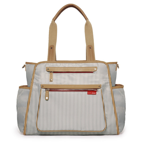 Skip Hop Grand Central Take It all Nappy Bag - French Stripe
