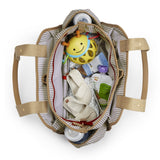 Skip Hop Grand Central Take It all Nappy Bag - French Stripe (2)