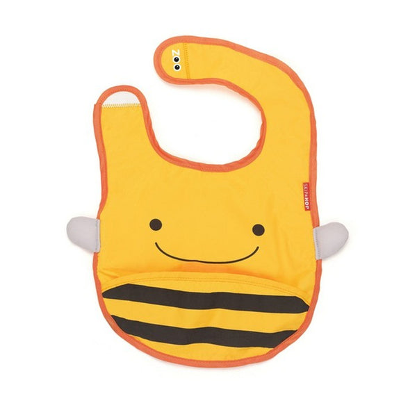 Skip Hop Zoo Brooklyn Bee Zoo Tuck Away Bib