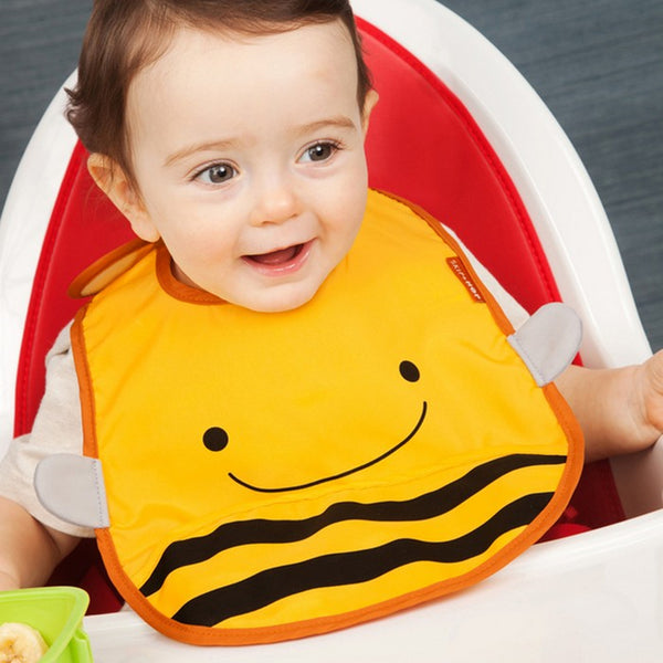 Skip Hop Zoo Brooklyn Bee Zoo Tuck Away Bib (2)