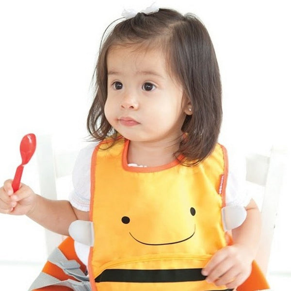 Skip Hop Zoo Brooklyn Bee Zoo Tuck Away Bib (3)