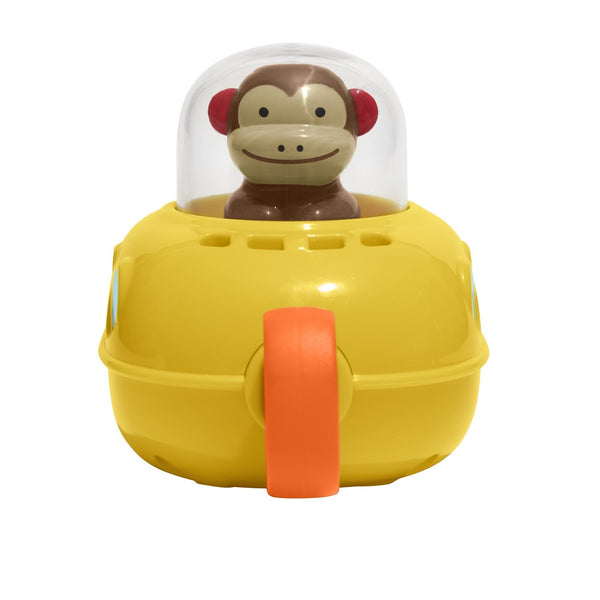Skip Hop Zoo Marshall Monkey Pull & Go Submarine