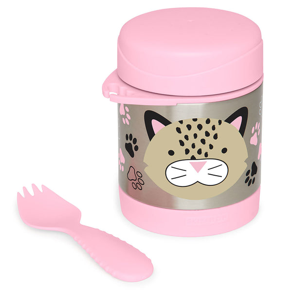 Skip Hop Zoo London Leopard Insulated Food Jar (1)