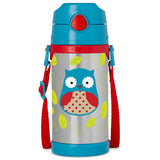 Skip Hop Zoo Otis Owl Insulated Stainless Steel Bottle