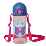 Skip Hop Zoo Blossom Butterfly Lock Top Sport Bottle