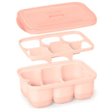 Skip Hop Easy Fill Freezer Trays - Grey/Coral (1)