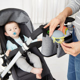 Skip Hop Grab & Go Silicone Pacifier Holder - Grey (2)