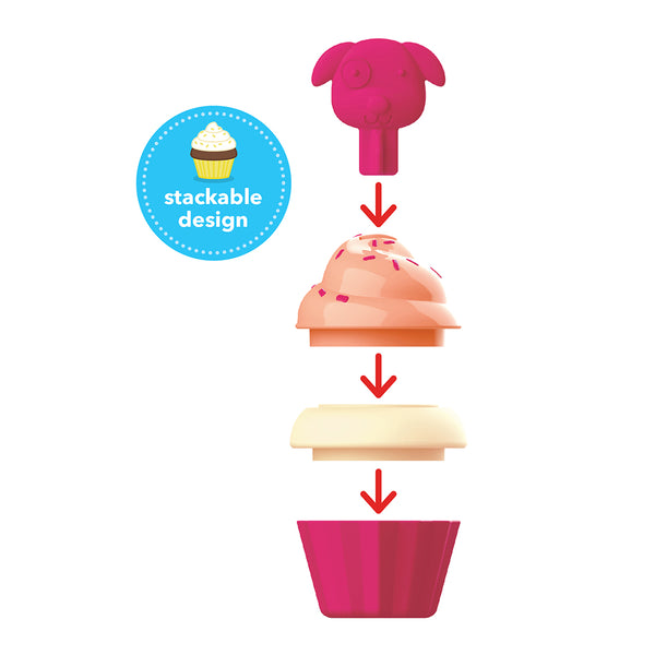 Skip Hop Zoo Sort and Stack Cupcakes (2)
