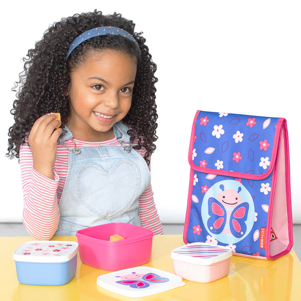 Skip Hop Zoo Blossom Butterfly Lunch Bag (1)