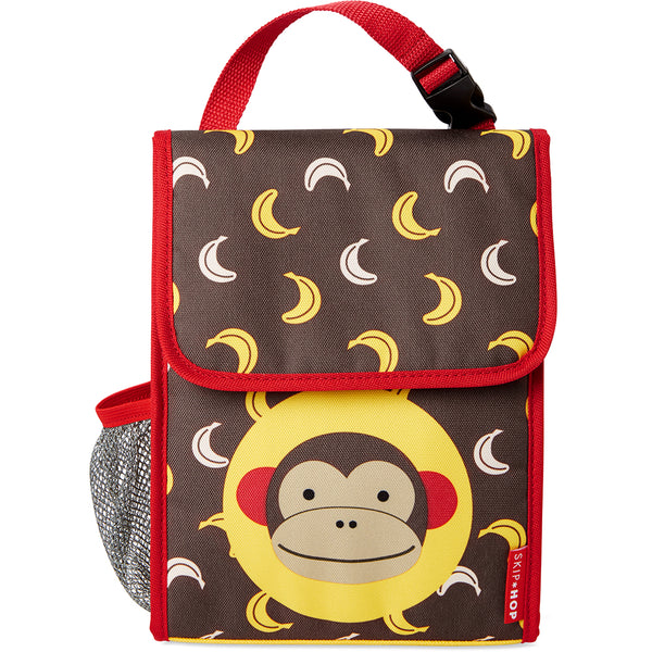 Skip Hop Zoo Marshall Monkey Lunch Bag