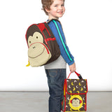 Skip Hop Zoo Marshall Monkey Lunch Bag (1)