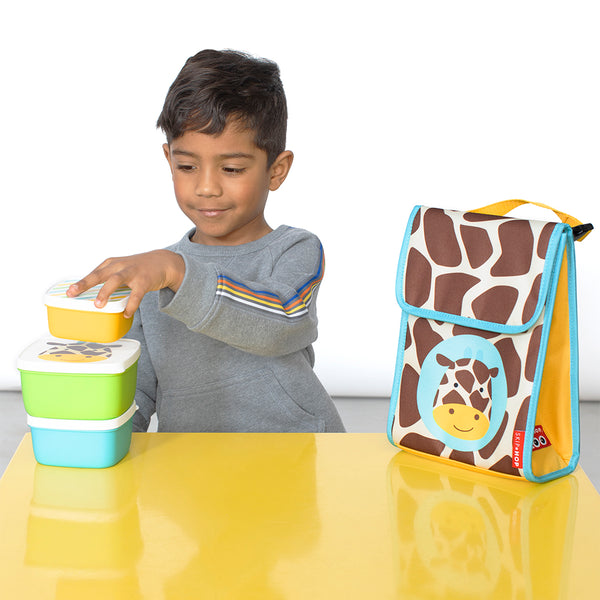 Skip Hop Zoo Jules Giraffe Lunch Bag (1)