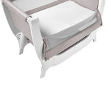 Shnuggle Air Bedside Crib - Stone Grey (1)