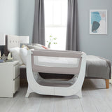 Shnuggle Air Bedside Crib - Stone Grey (3)