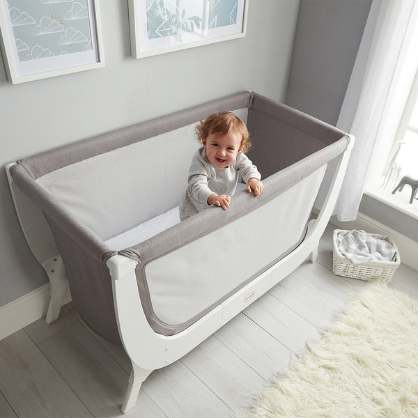Shnuggle Air Cot Conversion Kit - Dove Grey (3)