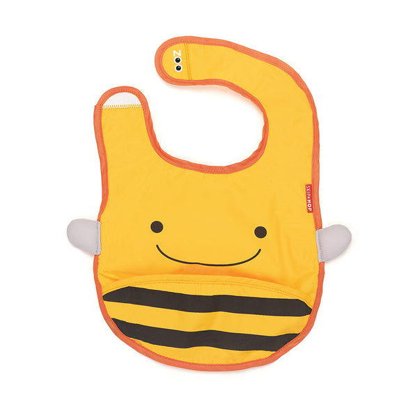 Skip Hop Zoo Brooklyn Bee Zoo Tuck Away Bib (4)