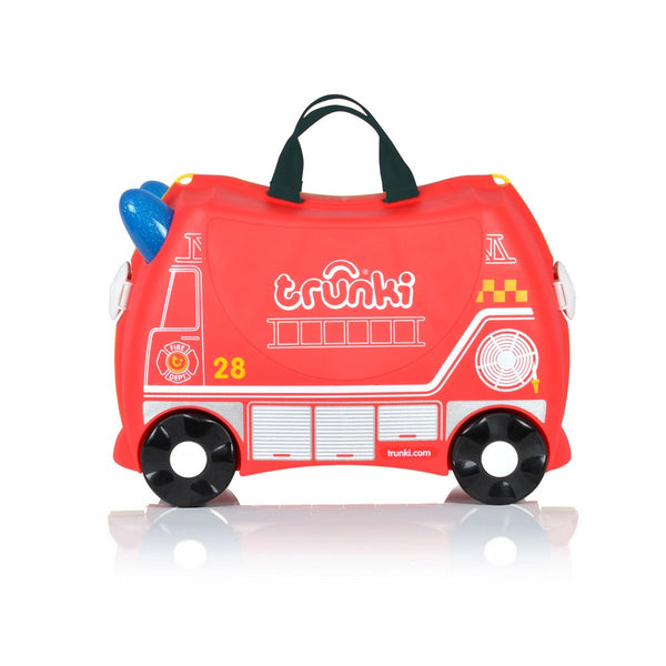Trunki Ride-on Luggage - Frank Fire Truck (1)