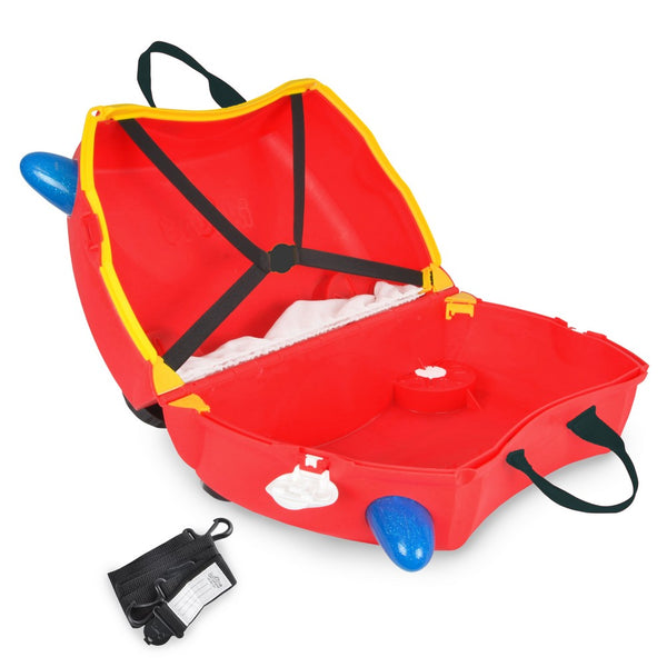 Trunki Ride-on Luggage - Frank Fire Truck (2)