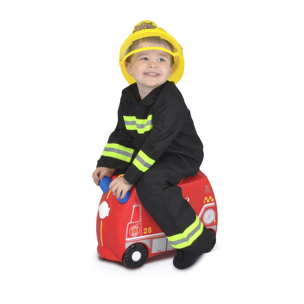 Trunki Ride-on Luggage - Frank Fire Truck (3)