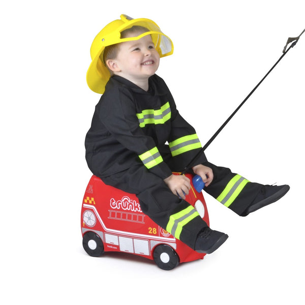 Trunki Ride-on Luggage - Frank Fire Truck (4)