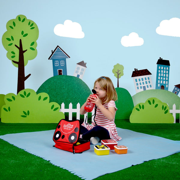 Trunki Water Bottle - Ladybug (4)