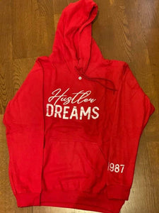"""Hustler Dreams"" Premium Embroidered Hoodie"