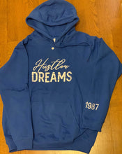 "Load image into Gallery viewer, ""Hustler Dreams"" Premium Embroidered Hoodie"