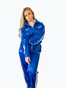 Hustler Dreams Tracksuit - Blue & White