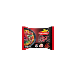 GN Lucky Me Instant Pancit Canton Hot Chili (80g)