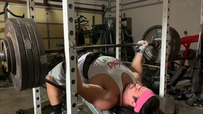 435 reverse grip bench IS IT THE SECRET TO HUGE SQUARED OFF CHEST?!