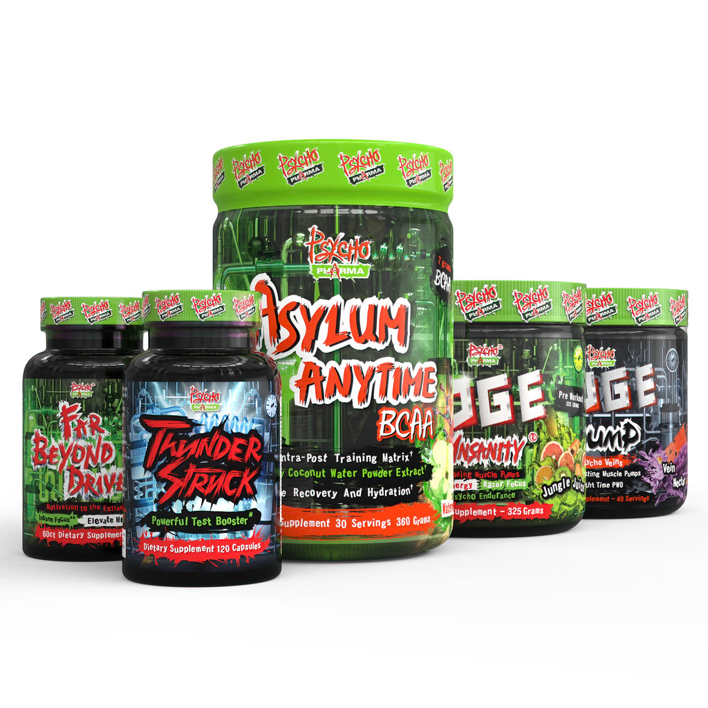 The Ultimate Performance Stack - Psycho Pharma