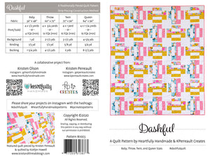 Dashful - Digital PDF Pattern