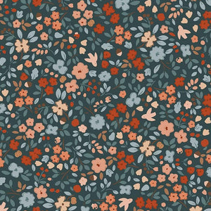 Country Mouse - Autumn Floral in Carbon