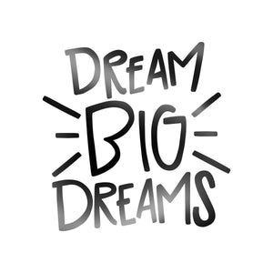 Decal - Dream Big Dreams