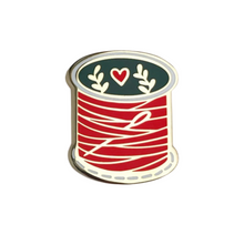 Load image into Gallery viewer, Spool of Thread Enamel Pin