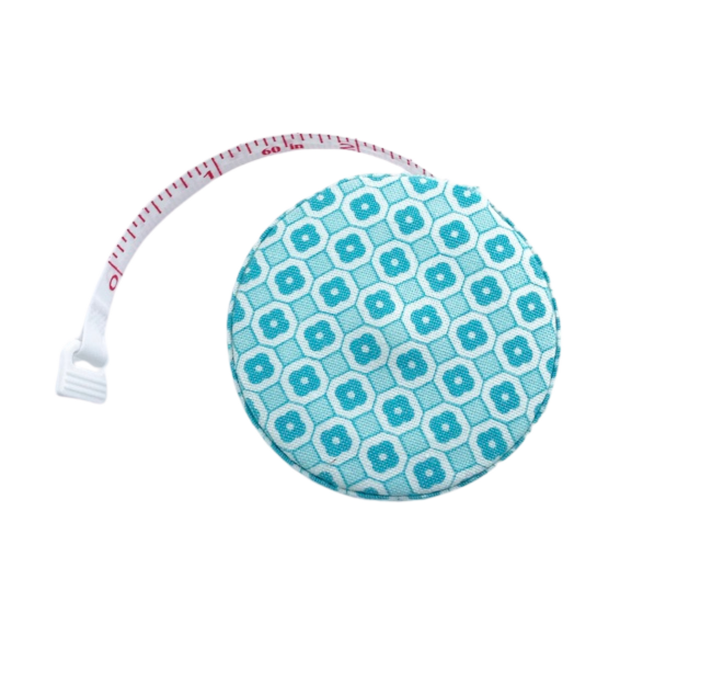 Fabric Covered Tape Measure - Teal
