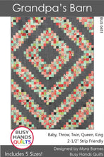 Load image into Gallery viewer, Grandpa's Barn by Busy Hands Quilts - PAPER Pattern