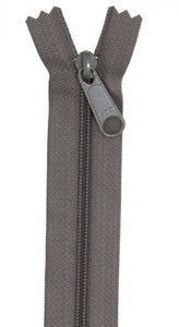 "24"" Handbag Zipper - Slate Gray"