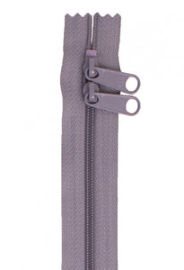 "30"" Handbag Zipper - Gunmetal Gray"