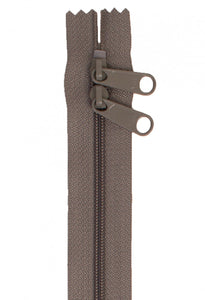 "30"" Handbag Zipper - Taupe"