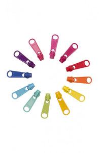 Handbag Zipper Pulls - Brights Pack
