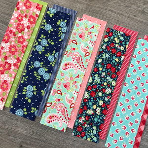 Key Fob Kit - 5 Pack - Bonnie & Camille Fabric