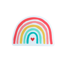 Load image into Gallery viewer, Happy Rainbow Vinyl Sticker