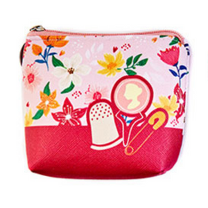 Coin Purse with Key Ring - Thimble