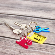 "Load image into Gallery viewer, ""Scissors"" Key Ring"