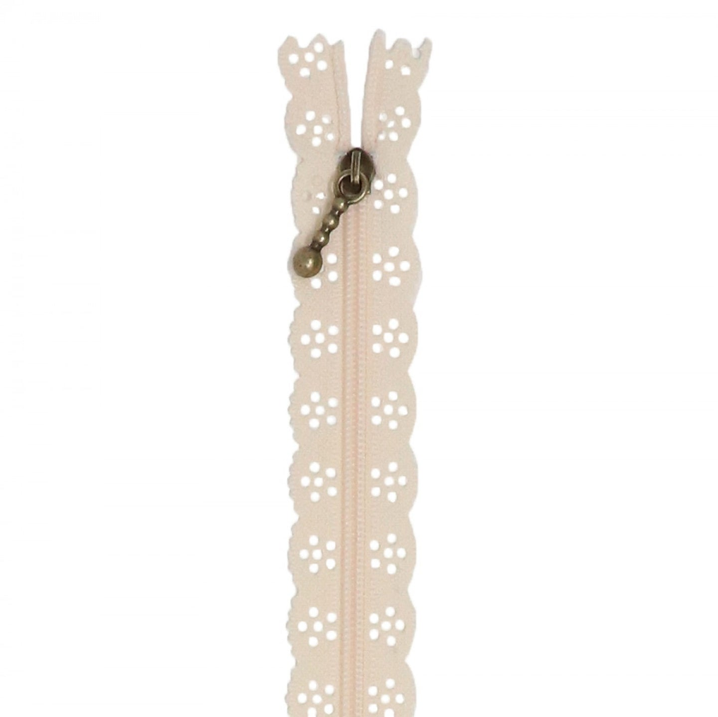 Lace Zipper - 14 Inch - Buttermilk