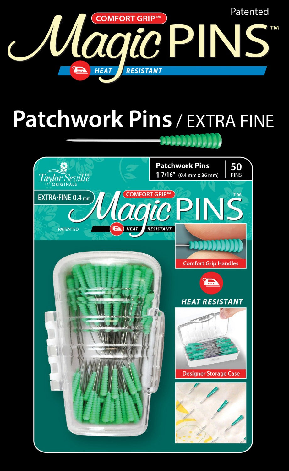 Magic Pins - Extra Fine Pins